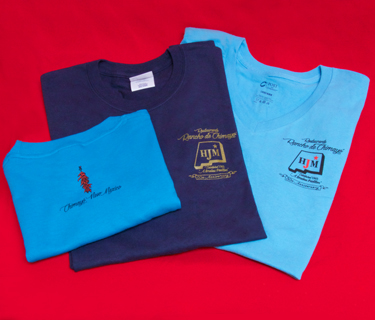 50th Anniversary T-shirts with Red Chile Logo on the Back