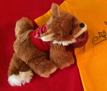 50th Anniversary Stuffed Foxes